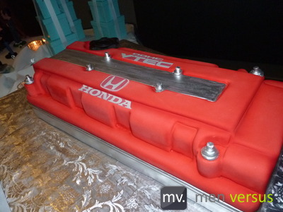 VTEC valve cover cake
