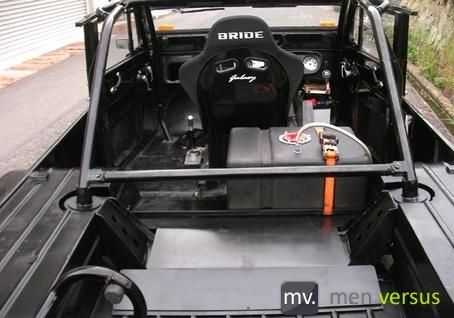 SR20 Jeep Interior
