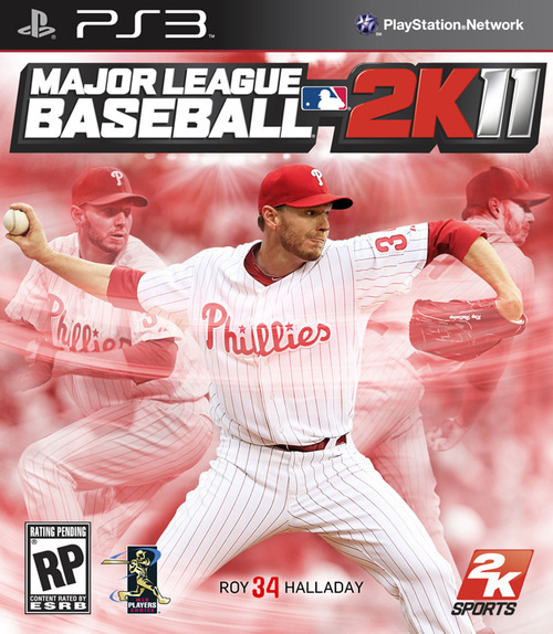 Perfect Pitcher Grace MLB 2K11 Cover