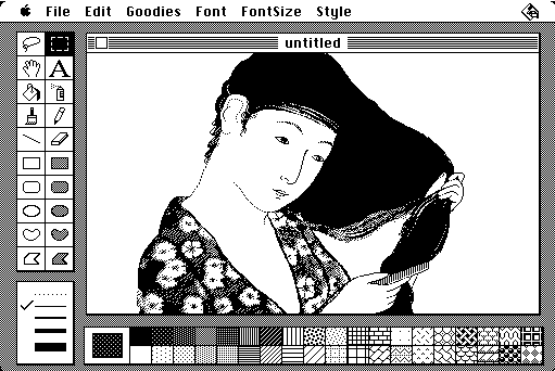 Original MacPaint source code released